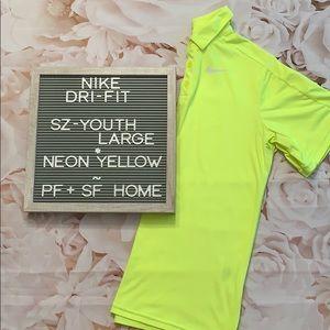 Nike Kids Sz Lg Polo